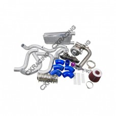 Turbo Intercooler Kit for 04-08 Acura TSX K24 T04E Manifold Downpipe