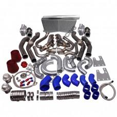 GT35 Turbo Header Intercooler Kit For G-Body LS1 LS Motor Cutlass Grand National Monte Carlo