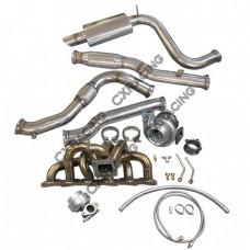 Manifold Turbo Downpipe CatBack For 240Z 260Z 280Z RB25 RB25DET Swap