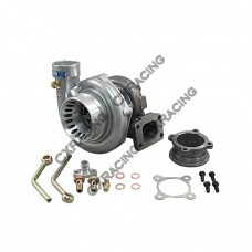 GT35 Turbo Charger T3 Anti-Surge Air Inlet Oil + Water Cooled w/ Accessories Kit