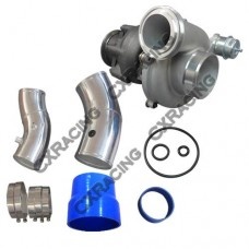 """Super Large GTP38 Turbo Charger + O-Ring 4"""" 5"""" Air Intake Pipe for 99-03 Ford 7.3 PowerStroke"""