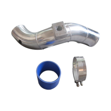 """4"""" Aluminum Turbo Cold Air Intake Pipe for 03-07 Ford 6.0 Diesel Powerstroke"""
