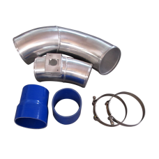 """5"""" Aluminum Turbo Cold Air Intake Pipe for 03-07 Ford 6.0 Diesel Powers"""