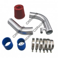 """3"""" Cold Intake Pipe + Air Filter For 99-05 VW Jetta 1.8T Turbo"""