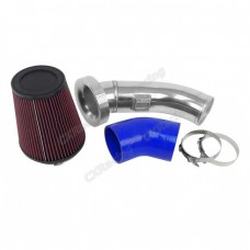 "4"" Velocity Stack Air Intake Pipe 6"" Filter For 09-15 Camaro LS3 6.2L"