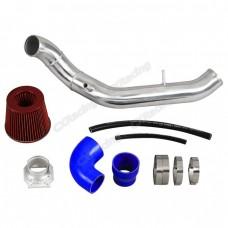 "3"" Air Intake Pipe + Filter For 89-97 Mazda Miata 1.6L Black Hose CAI"