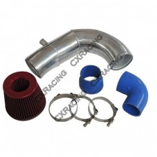"""4"""" Supercharger Intake Pipe Filter For 87-93 5.0 Ford Mustang Vortech V3 SC"""