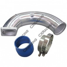 "3.5"" Intake Elbow Charge Pipe For 94-98 Dodge Ram Cummins 5.9L 12V Diesel"