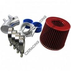 Cold Air Intake pipe kit + MAF Flange + Filter BMW E30 325i 325ix