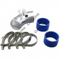 "BMW E30 Air intake Throttle body pipe Turbo NA 2.75"" Aluminum"