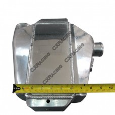 """Liquid Water to Air Intercooler, Core: 10""""x5""""x4.5"""", 4.5"""" Core, 3"""" Air Inlet, 2"""" Air Outlet"""