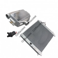 Aluminum Heat Exchanger Liquid Water to Air Intercooler and Water Pump