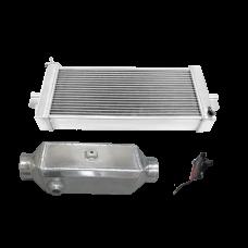 Heat Exchanger Liquid Water to Air Intercooler Pump Kit