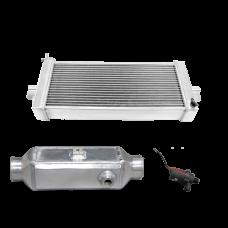 "5"" Liquid Water to Air Intercooler Heat Exchanger Pump Kit"