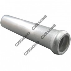 "2x Aluminum Weld On Vacuum Pipe Nipple Tube 10mm 2"" L"