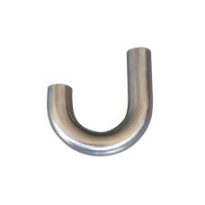 """1.75"""" OD Universal Aluminum Pipe 180 Degree J-Bend, 1.65mm Thick Tube, 15"""" in Length"""