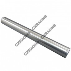 """2.5"""" OD Universal Straight Aluminum Pipe, 2mm Thick Tube, 24"""" in Length"""