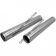 "2pcs 2.5"" Inch OD Straight Universal Aluminum Intercooler Intake Pipe"