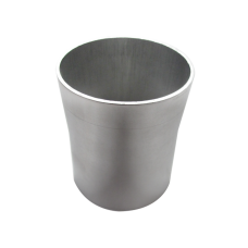 """2.75"""" to 2.5"""" OD Weld On Aluminum Reducer Pipe 2mm Thick 3"""" Long"""