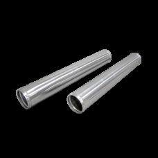 "2pcs 3"" Inch OD Straight Universal Aluminum Intercooler Intake Pipe"