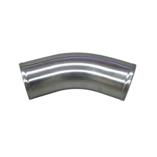 """3.5"""" OD Universal Aluminum Joiner Pipe 45 Degree, 3mm Thick Tube, 10"""" in Length"""