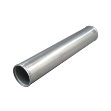 """3.5"""" Straight Aluminum Pipe, 3.0mm Thick Tube, 24"""" in Length"""