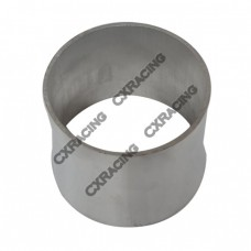 """4"""" to 3.5'' OD Weld On Aluminum Reducer Pipe 2mm Thick 3"""" Long"""
