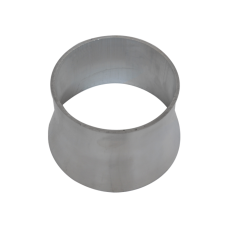 """5"""" to 4'' OD Weld On Aluminum Reducer Pipe 2mm Thick 3"""" Long"""