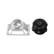 50MM Blow Off Valve BOV + Billet Adapter Flange For Kia Stinger 3.3 TT