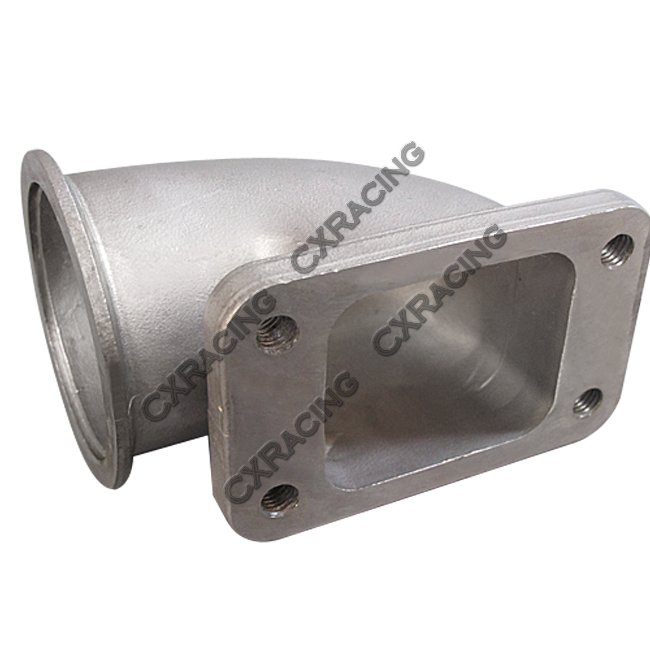 Quot vband t turbo stainless steel degree elbow
