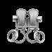 """3"""" Vband 90 Deg T4 Turbo SS Cast Elbow Adapter Flange WG Tube Welded"""