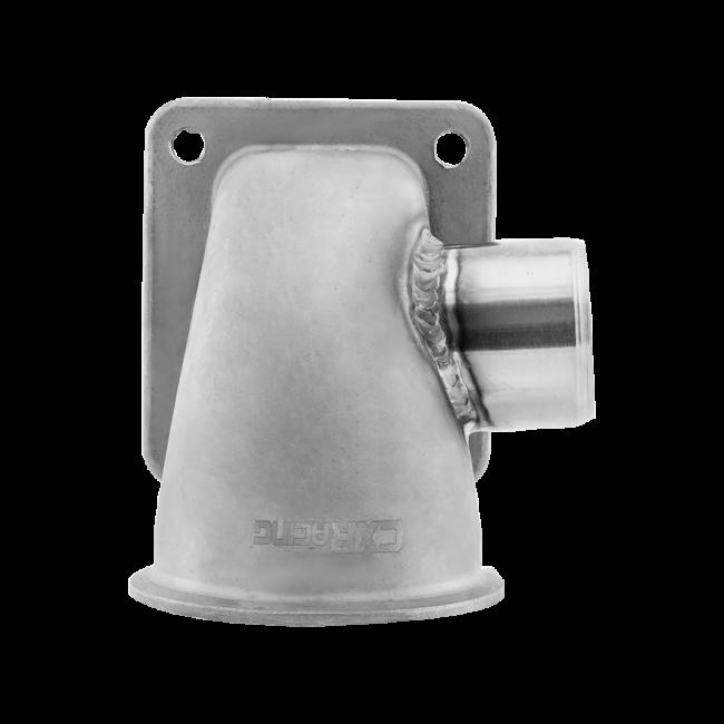 3 Vband 90 Deg T4 Turbo SS Cast Elbow Adapter Flange WG Tube Welded