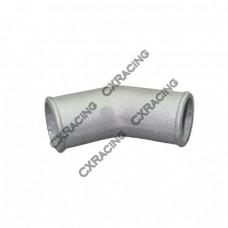 "2"" Cast Aluminum 45 Degree Elbow Pipe Turbo Downpipe"