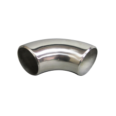 "2"" O.D. Extruded 304 Stainless Steel Elbow 90 Degree Pipe , 3mm (11 Gauge) Thick"
