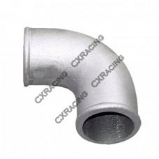 "2.25"" Cast Aluminum 90 Degree Elbow Pipe Turbo Downpipe"