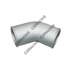 "2.5"" Cast Aluminum 45 Degree Elbow Pipe Turbo Downpipe"
