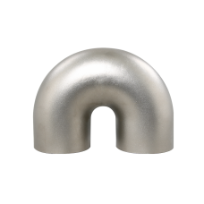 "3"" Cast 304 Stainless Steel 180 Deg Elbow U Pipe For Turbo Header 2.5"" Radius"