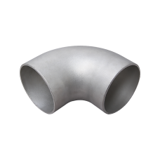"3.5"" Cast 304 Stainless Steel 90 Degree Elbow Pipe For Header Manifold Downpipe"
