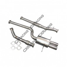 "Catback Exhaust System For 94-01 Audi A4 B5 3"" Stainless Steel"