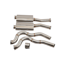 """3"""" Stainless Steel Dual Catback Exhaust System for 67-69 Camaro LS1 SBC"""