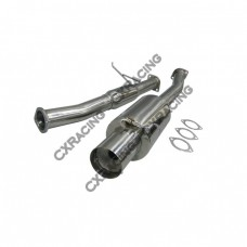 "Turbo Catback Exhaust System For 93-02 Toyota Supra MK4 3"" SS 2JZGTE"