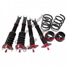 Suspension Kit For 03-07 350Z Z33; Spring Rate: Front 14kg / Rear 10kg