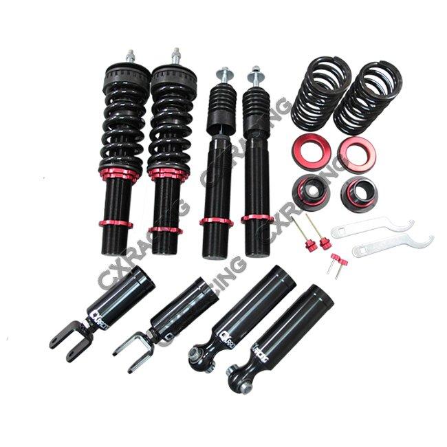 damper coilover suspension kit for 00 08 audi a4 b6 b7 fwd. Black Bedroom Furniture Sets. Home Design Ideas