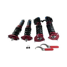 32 Damper Camber Plate Suspension CoilOvers For 12-16 FRS FR-S GT86 Subaru BRZ