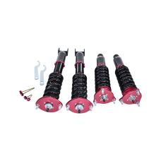 Damper CoilOvers Suspension Kit For 97-01 Honda Prelude Pillow Ball Mount