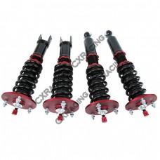 Coilover Suspension Kit For 93-97 RX7 FD; Spring Rate: Front 12kg / Rear 8kg