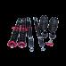Damper Suspension CoilOvers For 1995-2000 VOLKSWAGEN POLO MarkIII 6N2