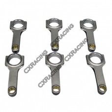 H-Beam Connecting Rod for BMW E28 E34 M5 S38 Engine 150mm Length 3.5 3.6 3.7L