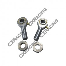 """Rod End Ends Ball Bearing Joints+Jam Nut 7/8"""" Rod 3/4"""" Hole"""
