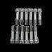 """3/8"""" x 1.5"""" Underhead 8740 Chromoly Connecting Rod Bolt 220K psi 12 PCS"""
